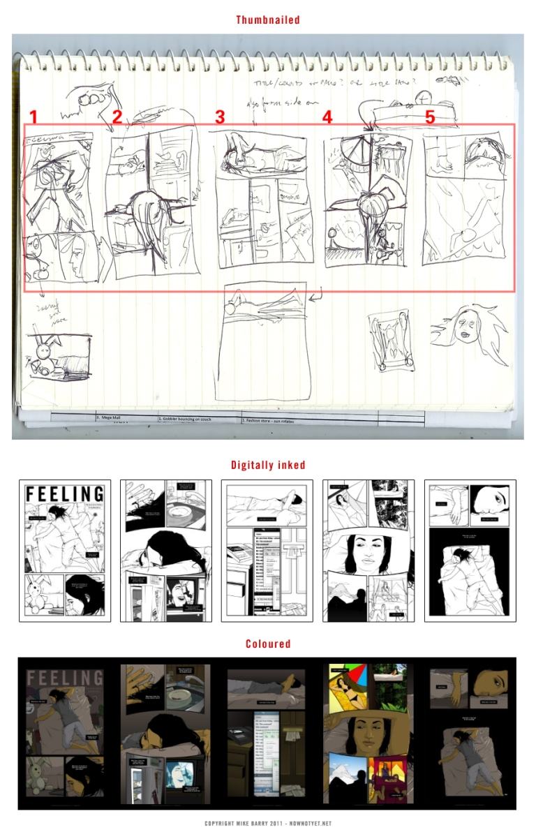 Process for creating Feeling, my chapter in Kinds of Blue